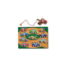 Melissa And Doug Melissa & Doug Magnetic Tow Truck Game - Magnetics ...