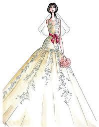 Alfred Angelo Wedding Dress Fall 2013 Sketch