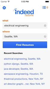 indeed resume we learned from search indeed resume