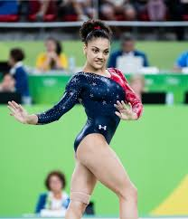 Dominique Moceanu Floor Routine by Athletes Shade Global