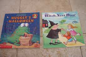 Cliffords Halloween Norman Bridwell by Halloween Set Of 2 Huggly U0027s Halloween And Witch Next Door Books