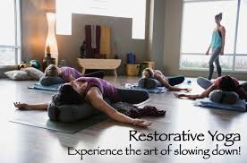 Restorative Yoga Is A Type Of Therapeutic That Provides Physical And Mental Balance Using Props Like Bolsters Cushions Blankets Blocks