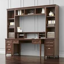 Crate And Barrel Leaning Desk by Sloane Java 25 5