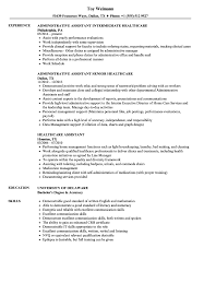 Healthcare Assistant Resume Sample Communication Skills Examples