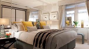 schlafzimmer gestalten mit spiegel bett kopfteil freshouse