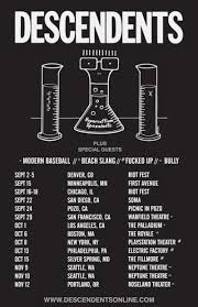 Soma Smashing Pumpkins by Descendents Announce Tour With Modern Baseball Beach Slang And More