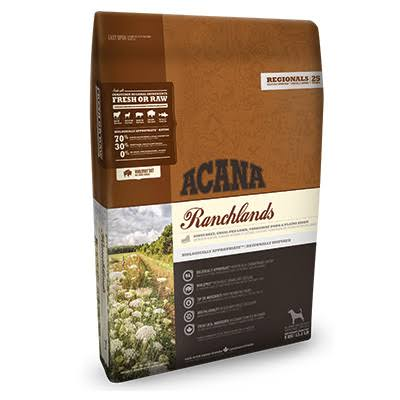 Acana Ranchlands Dry Dog Food - 6kg