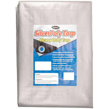 Sigman 30 ft x 50 ft Silver Heavy Duty Tarp SPT The Home