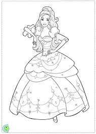 Barbie And Three Musketeers Coloring Pages Wearing Beautiful Dress