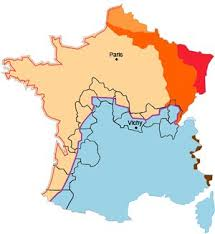 Were Crossed By The Demarcation Line Basses Pyrenees Landes Gironde Dordogne Charente Vienne Indre Et