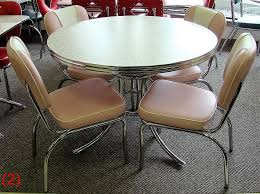 ACCRO WB22AN Endora Pink 42 Round Table 4 N53 Chairs