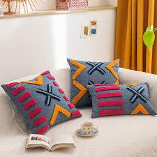 boho dekoration kissen abdeckung 45x4 5cm 30x50cm kissen abdeckung tufted für home dekoration netural wohnzimmer zimmer schlafzimmer
