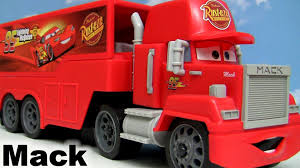 CARS 2 Shake N Go Mack Truck Hauler - YouTube