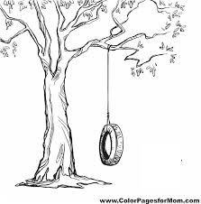 Tree Coloring Page 8