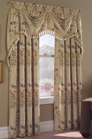 Lace Priscilla Curtains With Attached Valance by Country Curtains And Discount Country Curtains Swags Galore