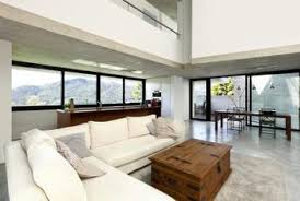 Living And Dining Room With An Open Floor Plan