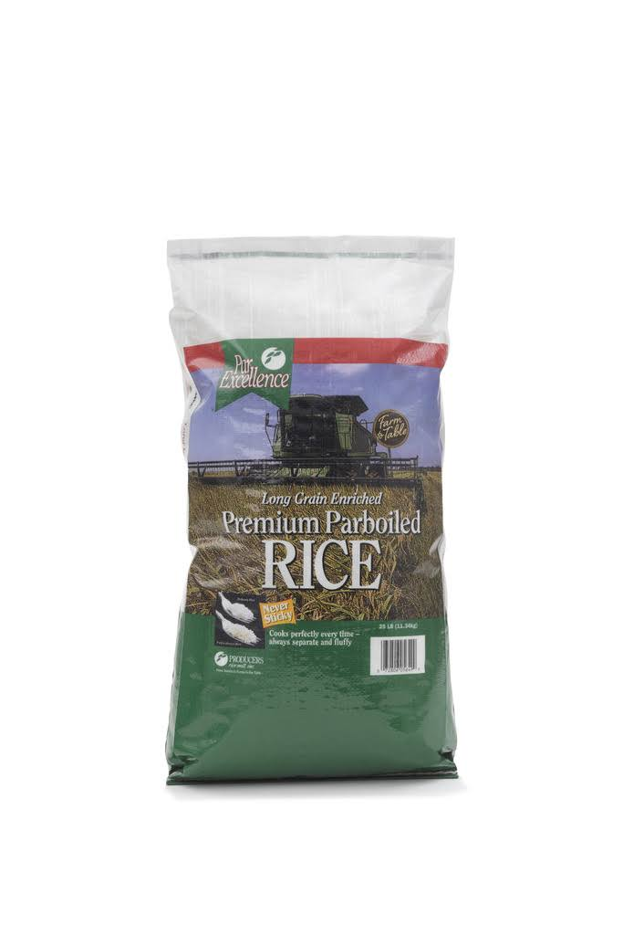 Producers Rice Parexcellence Parboiled Rice Bag - 25 Pound