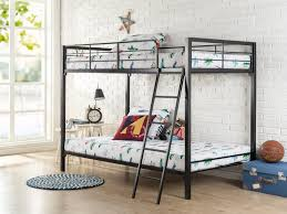 Low To The Ground Bunk Beds by Amazon Com Zinus Easy Assembly Quick Lock Twin Over Twin Metal