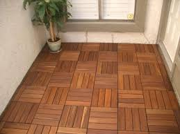 our 3 5 x 12 trim piece wood deck tiles are ideal for finishing