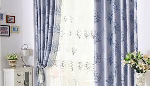 blue living room curtains ecoexperienciaselsalvador