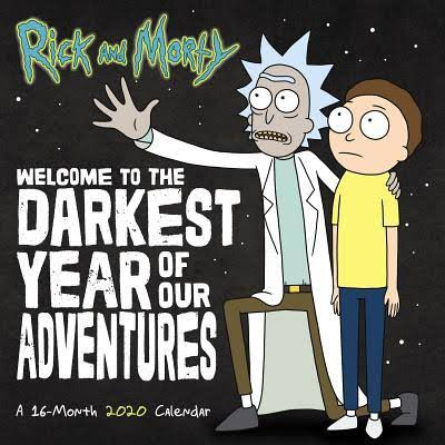 Rick and Morty 2020 Wall Calendar - Trends International