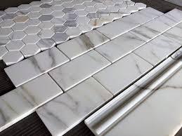 calacatta gold marble subway tile calacatta honed 36 and 2 tiles