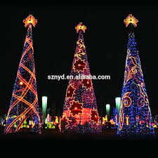 Spiral Lighted Christmas Tree by Christmas Trees Decorated Outside U2013 Happy Holidays