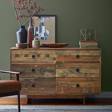 EmmersonR Reclaimed Wood 6 Drawer Dresser