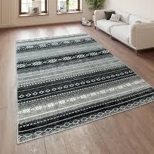 teppiche teppich modern design vintage streifen wohnzimmer