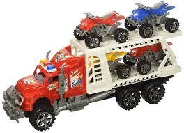 100 Atv Truck Amazoncom ATV Transporter Trailer Childrens Friction Toy