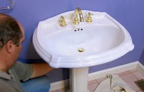 Bathroom Sink Drain Not Working by How To Replace A Pedestal Sink Pop Up Assembly This Old House