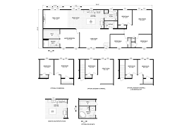 Clayton E Home Floor Plans by Harding 7628 9020 Sect