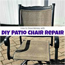 How To Save Yourself Money With DIY Patio Chair Repair Flash Fniture Kids White Resin Folding Chair With Vinyl How To Save Yourself Money Diy Patio Repair Aqua Lawn The Best Camping Chairs Travel Leisure Pair Of By Telescope Company Top 14 In 2019 Closeup Check Lavish Home Black Cushion Seat Foldable Set 2 7 Sturdy For Fat People Up To And Beyond 500 Pounds Reweb A 10 Easy Wooden Benches Family Hdyman Wrought Iron Ideas Outdoor Stackable
