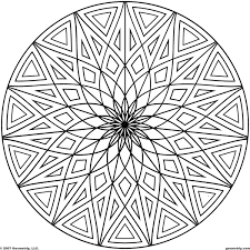 Coloring Pages Of Cool Designs And
