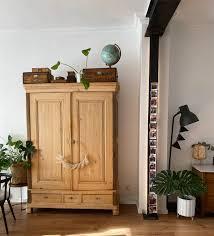 ein blick in unser wohn esszimmer träger vintage