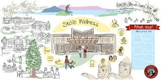 Stolo Wellness Vision Map Illustrated By Sam Bradd Centre Is The