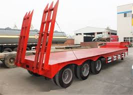 100 Cheap Semi Trucks For Sale China Supplier Gooseneck Price Heavy Low Bed