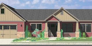 10173 Portland Oregon House Plans One Story Great Room