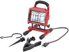 craftsman watt worklight 4in 1 halogen 250 steel light guard grill