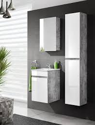 badmöbelsets badschrank 3 türen badezimmerschrank 40cm