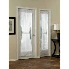 Sidelight Curtain Rods Magnetic by Mainstays Marjorie Sidelight Curtain Panel 28x72 Walmart Com