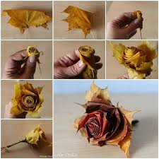 Fall Wedding Decor Featuring Fabulous DIY Leaf Roses Mon Cheri