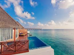 chambre sur pilotis maldives hôtel à ile de kooddoo mercure maldives kooddoo resort