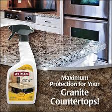 weiman granite sealer 24 fl oz home kitchen