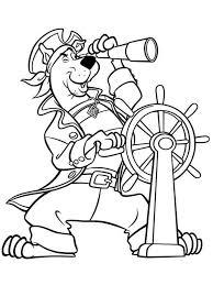 Scooby Doo Coloring Pages 16