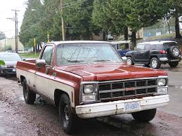 100 Old Gmc Trucks Parked Cars Vancouver 1986 GMC Sierra Classic Camper Special
