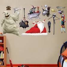 Nightmare Before Christmas Bathroom Set by Amazon Com Fathead Nightmare Before Christmas Collection Graphic