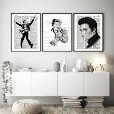 elvises presleys tanz tapete wand kunst leinwand minimalistischen nordic poster drucke malerei bilder moderne schlafzimmer dekor