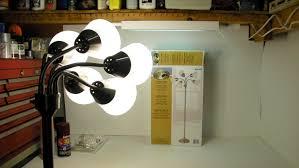 Room Essentials 5 Head Floor Lamp by Hampton Bay Floor Lamp Studio Light 524 505 Un Boxing