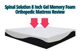 Solution 8 Inch Gel Memory Foam Orthopedic Mattress Review